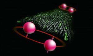 양자역학의 '얽힘'을 이용한 양자전송 - 네이처 물리학 제공
